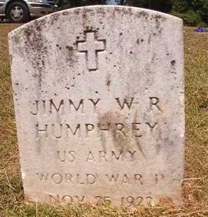 HUMPHREY (VETERAN WWII), JIMMY W R - Dallas County, Arkansas | JIMMY W R HUMPHREY (VETERAN WWII) - Arkansas Gravestone Photos