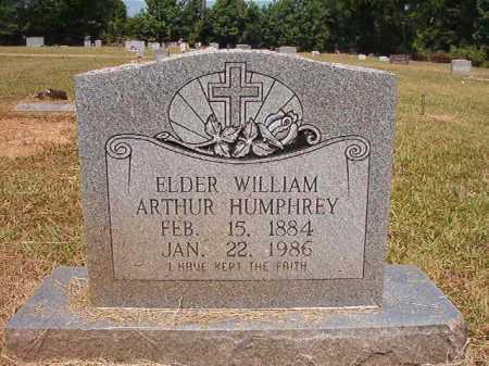 HUMPHREY, WILLIAM ARTHUR - Dallas County, Arkansas | WILLIAM ARTHUR HUMPHREY - Arkansas Gravestone Photos