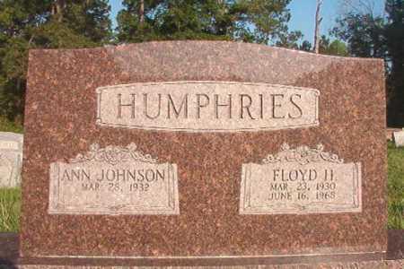 HUMPHRIES, FLOYD H - Dallas County, Arkansas   FLOYD H HUMPHRIES - Arkansas Gravestone Photos