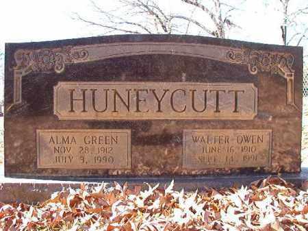 GREEN HUNEYCUTT, ALMA - Dallas County, Arkansas | ALMA GREEN HUNEYCUTT - Arkansas Gravestone Photos