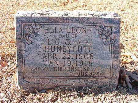 HUNEYCUTT, ELLA LEONE - Dallas County, Arkansas | ELLA LEONE HUNEYCUTT - Arkansas Gravestone Photos