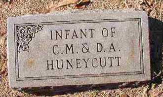 HUNEYCUTT, INFANT - Dallas County, Arkansas   INFANT HUNEYCUTT - Arkansas Gravestone Photos