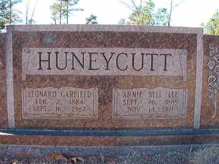 HUNEYCUTT, LEONARD GARFIELD - Dallas County, Arkansas | LEONARD GARFIELD HUNEYCUTT - Arkansas Gravestone Photos