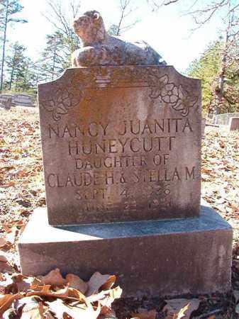 HUNEYCUTT, NANCY JUANITA - Dallas County, Arkansas   NANCY JUANITA HUNEYCUTT - Arkansas Gravestone Photos