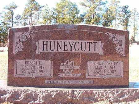 CROSSLEY HUNEYCUTT, EDNA - Dallas County, Arkansas | EDNA CROSSLEY HUNEYCUTT - Arkansas Gravestone Photos