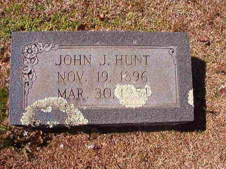 HUNT, JOHN J - Dallas County, Arkansas | JOHN J HUNT - Arkansas Gravestone Photos