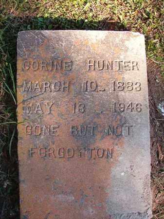 HUNTER, CORINE - Dallas County, Arkansas | CORINE HUNTER - Arkansas Gravestone Photos