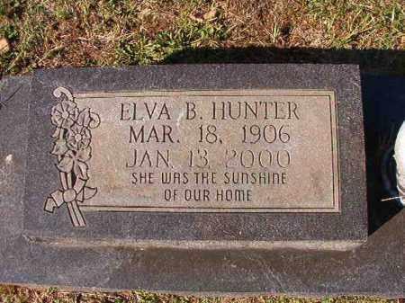 HUNTER, ELVA B - Dallas County, Arkansas | ELVA B HUNTER - Arkansas Gravestone Photos