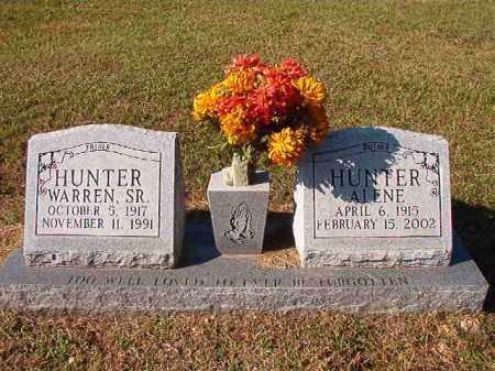 HUNTER, SR, WARREN - Dallas County, Arkansas | WARREN HUNTER, SR - Arkansas Gravestone Photos