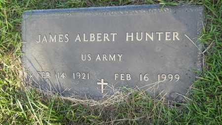 HUNTER (VETERAN), JAMES ALBERT - Dallas County, Arkansas   JAMES ALBERT HUNTER (VETERAN) - Arkansas Gravestone Photos