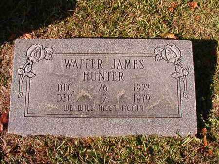 HUNTER, WAFFER JAMES - Dallas County, Arkansas   WAFFER JAMES HUNTER - Arkansas Gravestone Photos