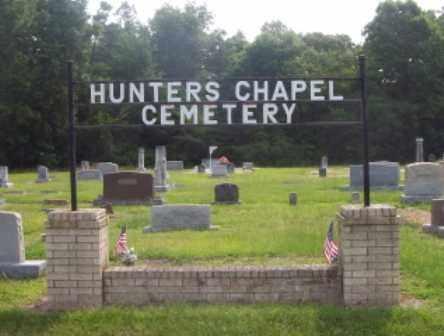 *HUNTERS CHAPEL SIGN,  - Dallas County, Arkansas    *HUNTERS CHAPEL SIGN - Arkansas Gravestone Photos