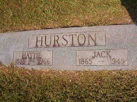 HURSTON, JACK - Dallas County, Arkansas | JACK HURSTON - Arkansas Gravestone Photos
