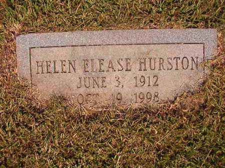 HURSTON, HELEN ELEASE - Dallas County, Arkansas | HELEN ELEASE HURSTON - Arkansas Gravestone Photos