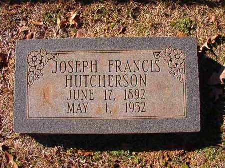 HUTCHERSON, JOSEPH FRANCIS - Dallas County, Arkansas | JOSEPH FRANCIS HUTCHERSON - Arkansas Gravestone Photos