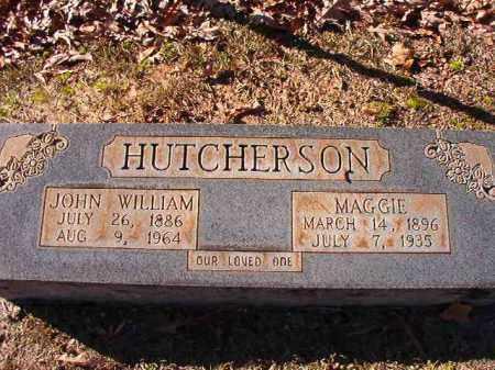 HUTCHERSON, MAGGIE - Dallas County, Arkansas | MAGGIE HUTCHERSON - Arkansas Gravestone Photos