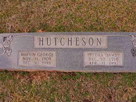 HUTCHESON, FLORA - Dallas County, Arkansas | FLORA HUTCHESON - Arkansas Gravestone Photos