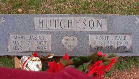 SEALE HUTCHESON, EDRIE - Dallas County, Arkansas | EDRIE SEALE HUTCHESON - Arkansas Gravestone Photos