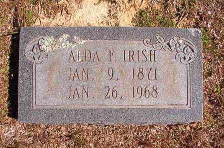 IRISH, ALDA F - Dallas County, Arkansas | ALDA F IRISH - Arkansas Gravestone Photos