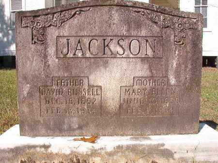 JACKSON, DAVID RUSSELL - Dallas County, Arkansas | DAVID RUSSELL JACKSON - Arkansas Gravestone Photos
