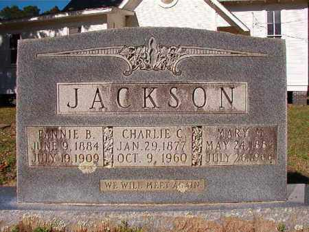 JACKSON, CHARLIE C - Dallas County, Arkansas | CHARLIE C JACKSON - Arkansas Gravestone Photos