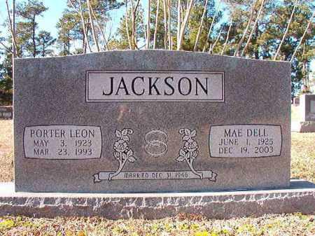 JACKSON, PORTER LEON - Dallas County, Arkansas   PORTER LEON JACKSON - Arkansas Gravestone Photos
