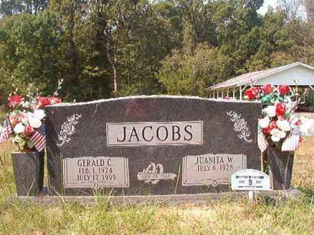 JACOBS, GERALD C - Dallas County, Arkansas | GERALD C JACOBS - Arkansas Gravestone Photos