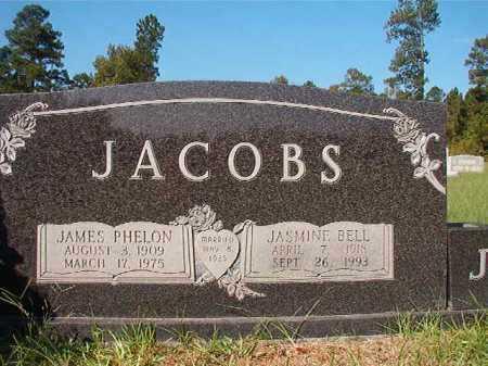 JACOBS, JAMES PHELON - Dallas County, Arkansas | JAMES PHELON JACOBS - Arkansas Gravestone Photos