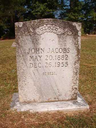 JACOBS, JOHN - Dallas County, Arkansas | JOHN JACOBS - Arkansas Gravestone Photos