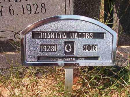 JACOBS, JUANITA - Dallas County, Arkansas   JUANITA JACOBS - Arkansas Gravestone Photos