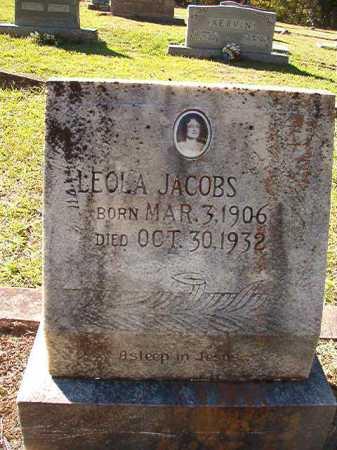 JACOBS, LEOLA - Dallas County, Arkansas | LEOLA JACOBS - Arkansas Gravestone Photos