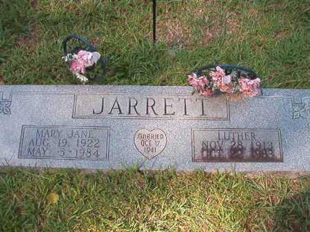 JARRETT, MARY JANE - Dallas County, Arkansas | MARY JANE JARRETT - Arkansas Gravestone Photos