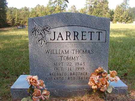 "JARRETT, WILLIAM THOMAS ""TOMMY"" - Dallas County, Arkansas | WILLIAM THOMAS ""TOMMY"" JARRETT - Arkansas Gravestone Photos"