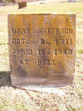 JEFFERSON, MARY - Dallas County, Arkansas | MARY JEFFERSON - Arkansas Gravestone Photos