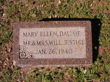 JESTICE, MARY ELLEN - Dallas County, Arkansas | MARY ELLEN JESTICE - Arkansas Gravestone Photos