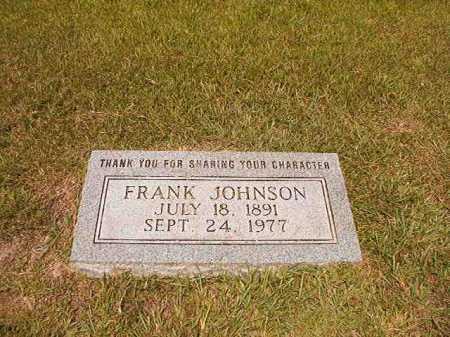 JOHNSON, FRANK - Dallas County, Arkansas | FRANK JOHNSON - Arkansas Gravestone Photos