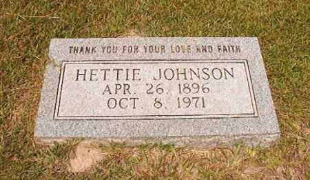 JOHNSON, HETTIE - Dallas County, Arkansas | HETTIE JOHNSON - Arkansas Gravestone Photos