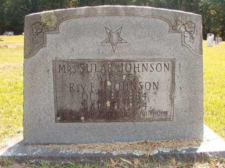 JOHNSON, SULAR - Dallas County, Arkansas   SULAR JOHNSON - Arkansas Gravestone Photos