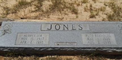 JONES, AUBREY JIM - Dallas County, Arkansas   AUBREY JIM JONES - Arkansas Gravestone Photos