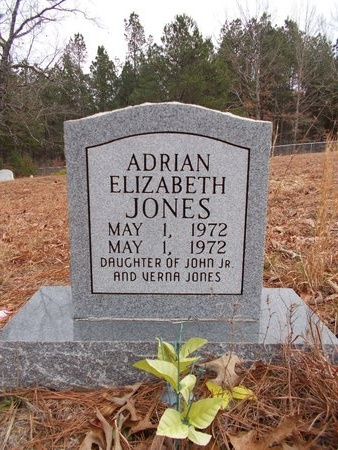 JONES, ADRIAN ELIZABETH - Dallas County, Arkansas | ADRIAN ELIZABETH JONES - Arkansas Gravestone Photos