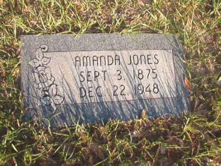 JONES, AMANDA - Dallas County, Arkansas | AMANDA JONES - Arkansas Gravestone Photos