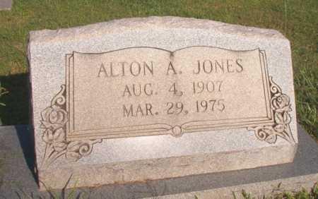 JONES, ALTON A - Dallas County, Arkansas | ALTON A JONES - Arkansas Gravestone Photos