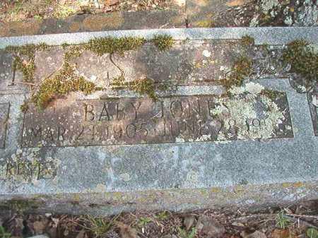 JONES, BABY - Dallas County, Arkansas | BABY JONES - Arkansas Gravestone Photos