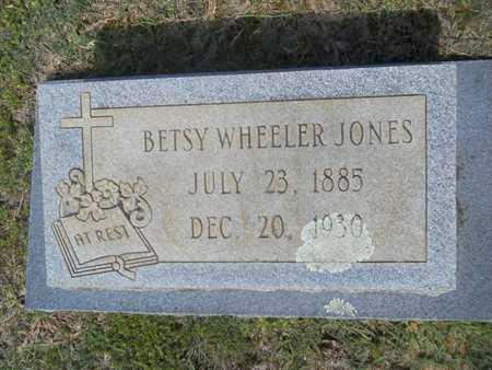 JONES, BETSY - Dallas County, Arkansas | BETSY JONES - Arkansas Gravestone Photos