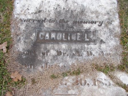 JONES, CAROLINE L - Dallas County, Arkansas | CAROLINE L JONES - Arkansas Gravestone Photos