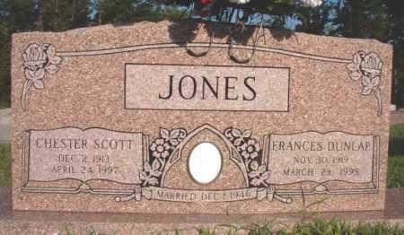 JONES, FRANCES - Dallas County, Arkansas | FRANCES JONES - Arkansas Gravestone Photos