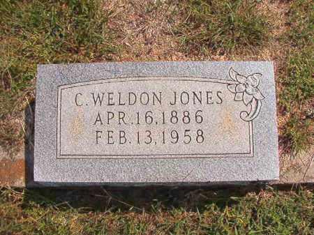JONES, C WELDON - Dallas County, Arkansas | C WELDON JONES - Arkansas Gravestone Photos