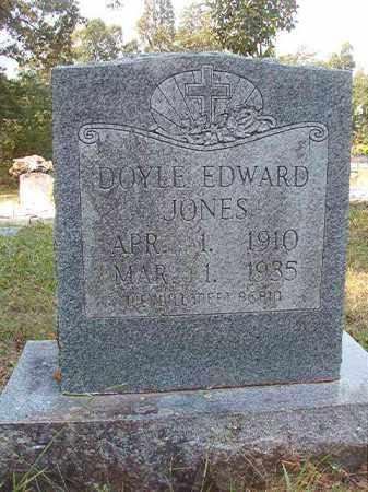 JONES, DOYLE EDWARD - Dallas County, Arkansas | DOYLE EDWARD JONES - Arkansas Gravestone Photos