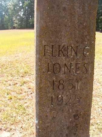 JONES, ELKIN C - Dallas County, Arkansas | ELKIN C JONES - Arkansas Gravestone Photos
