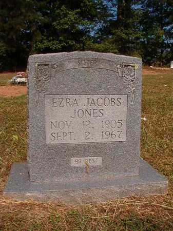 JONES, EZRA JACOBS - Dallas County, Arkansas | EZRA JACOBS JONES - Arkansas Gravestone Photos